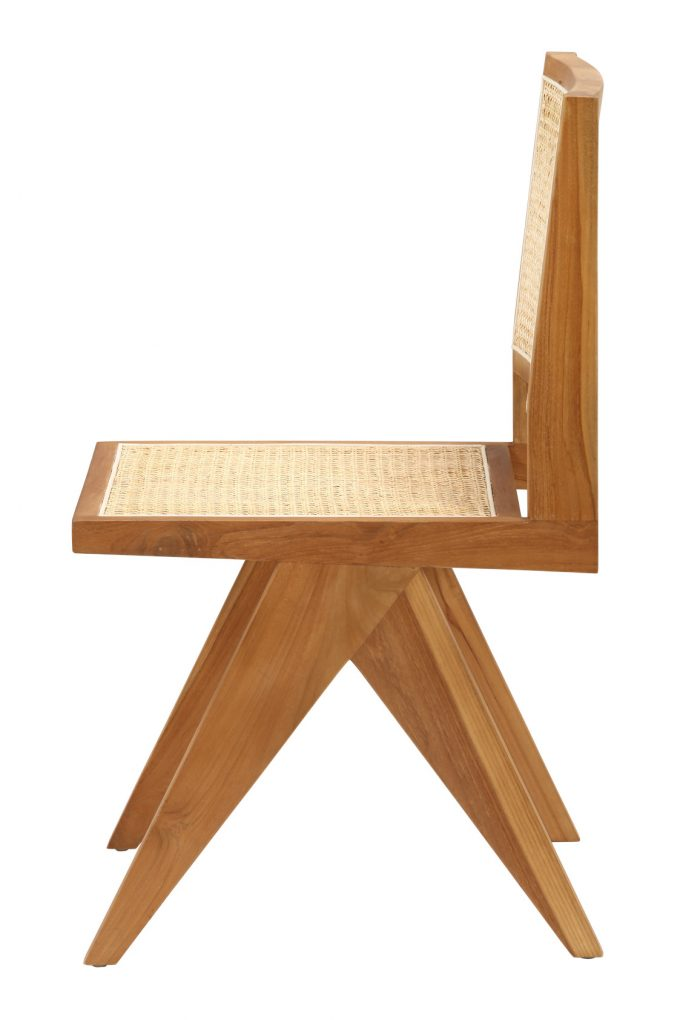 Maison Mimi et Toi - Jeanneret Armless Dining Chair in Teak